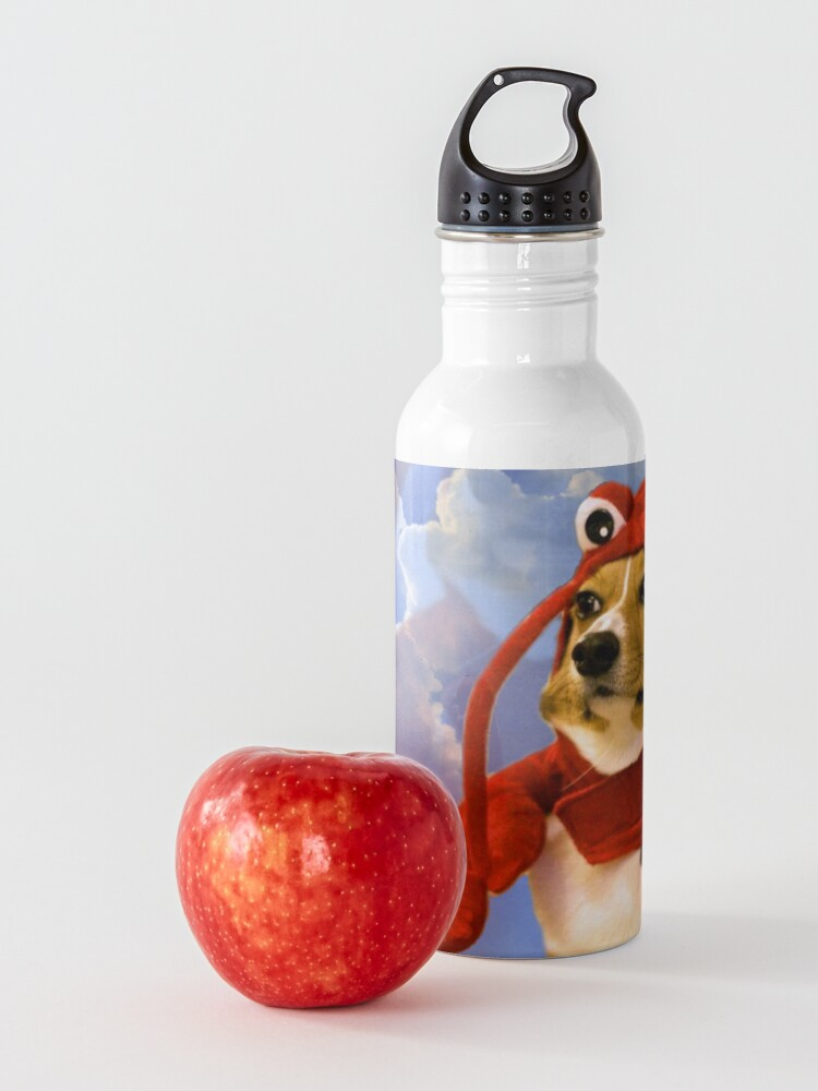 Alternate view of Lobster Corgi, Doggo #1 Water Bottle