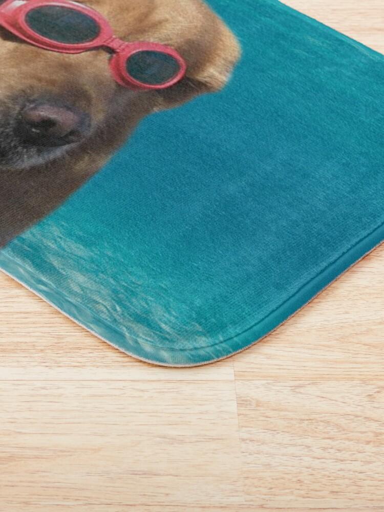 Alternate view of Swimmer Dog Bath Mat