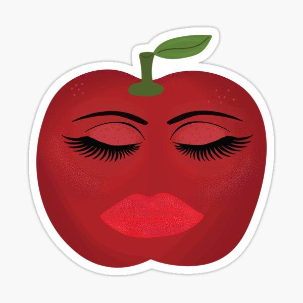 Sweet Red Apple Sticker