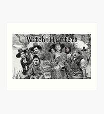 Witch Hunters Art Print