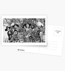 Witch Hunters Postcards