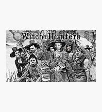 Witch Hunters Photographic Print