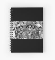Witch Hunters Spiral Notebook