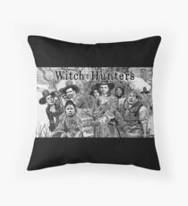 Witch Hunters Throw Pillow