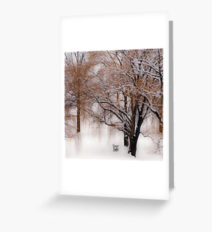 Winter Waits for You Greeting Card