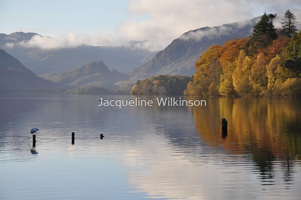 Autumn Mornings on Derwentwater by Jacqueline Wilkinson