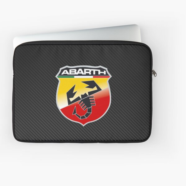 Abarth Carbon Fiber Logo Laptop Sleeve