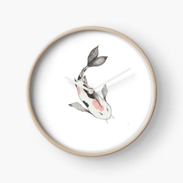carpe koï Horloge