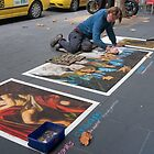 Pavement Artist by Werner Padarin