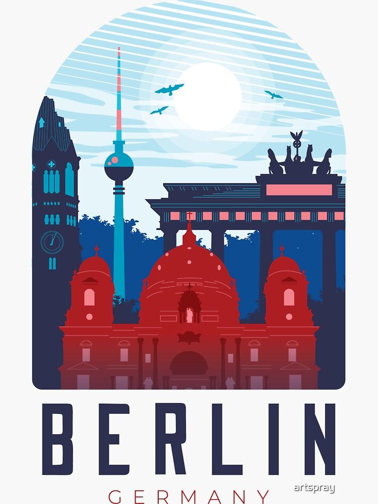 Berlin Skyline by artspray