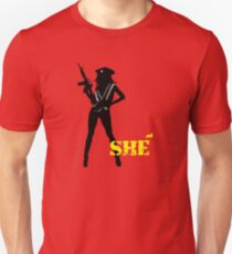 SHE Unisex T-Shirt