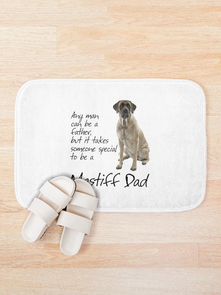 Alternate view of Mastiff Dad Bath Mat