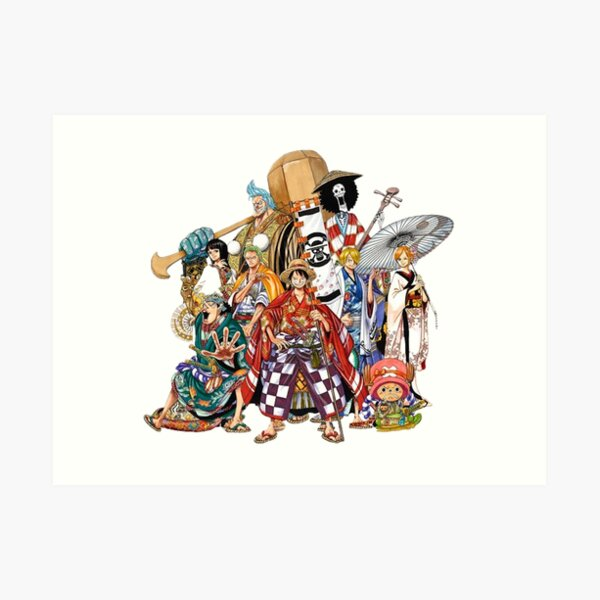 One Piece 1 Art Print
