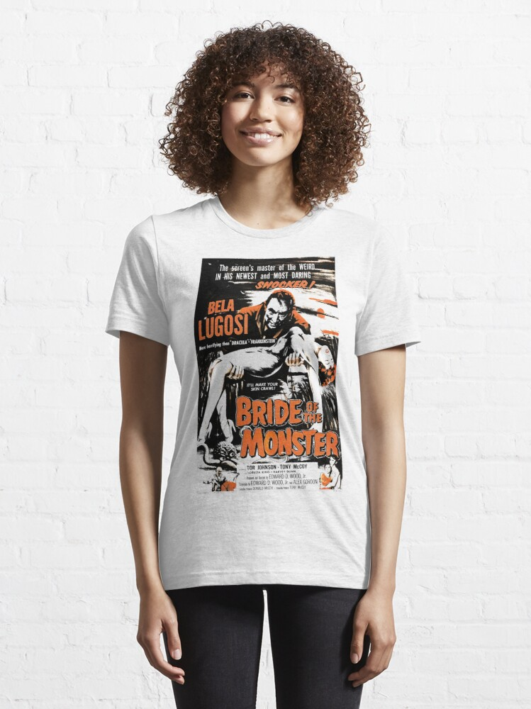 Alternate view of Bride of the Monster Essential T-Shirt