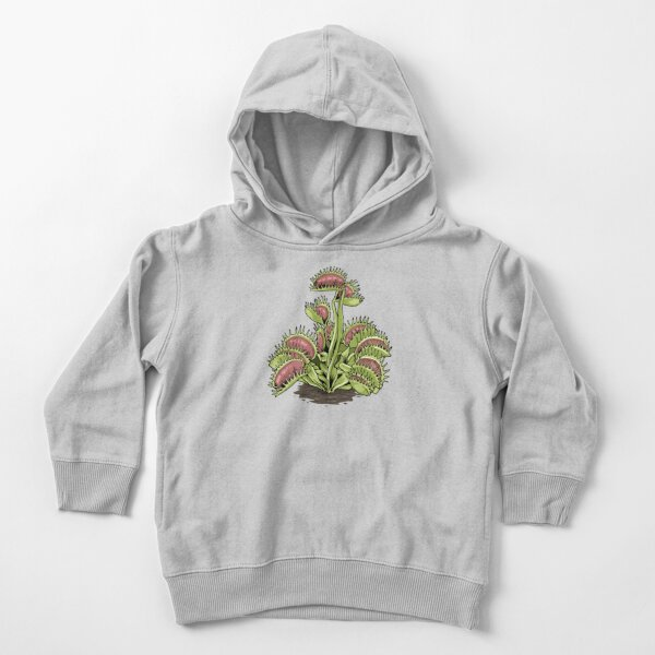 Venus Fly Trap Tshirt Carnivorous Plant Shirt Water Pitcher Toddler Pullover Hoodie