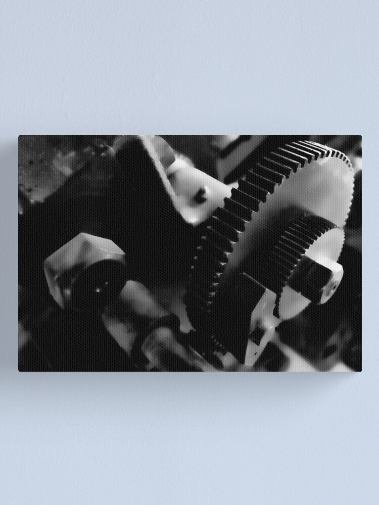 Alternate view of The Gears at the Toronto Brickworks Canvas Print