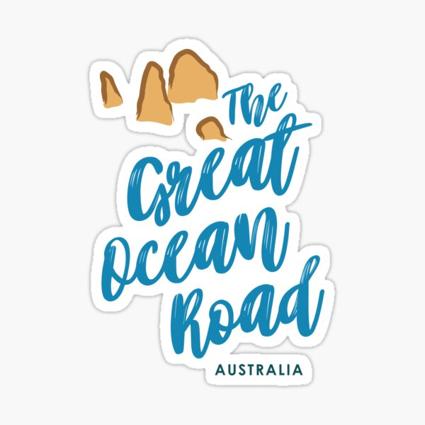 The Great Ocean Road - Australia Sticker