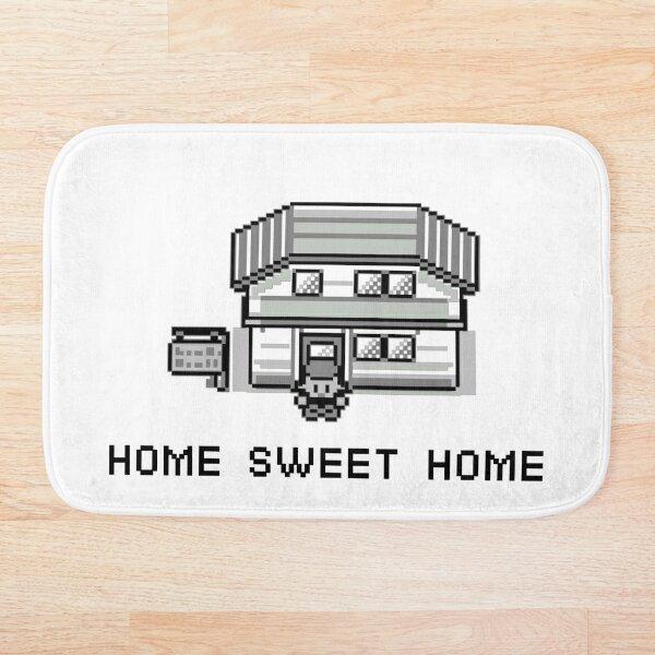 Pokemon Home Sweet Home Bath Mat