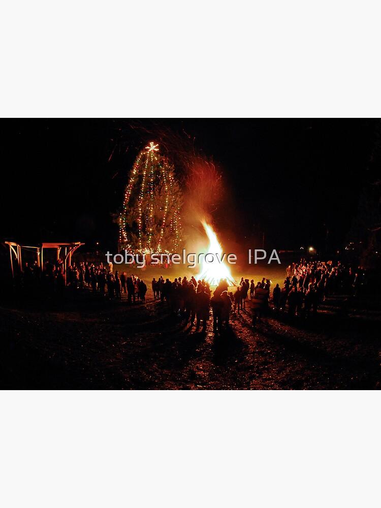 Miner's Bay Park on Christmas Eve by tobysnelgrove