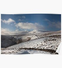 Penyghent From The Head Of Penyghent Gill Poster