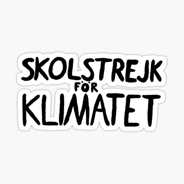 Kopie von Skolstrejk för klimatet - (Schulstreik für das Klima) Sticker
