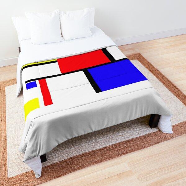 Method in the Mondrian Comforter