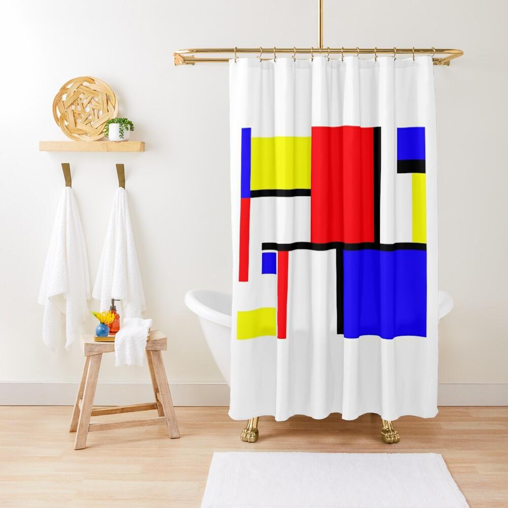 Method in the Mondrian Shower Curtain