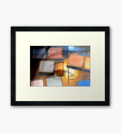 Which Color to Wear? Framed Print