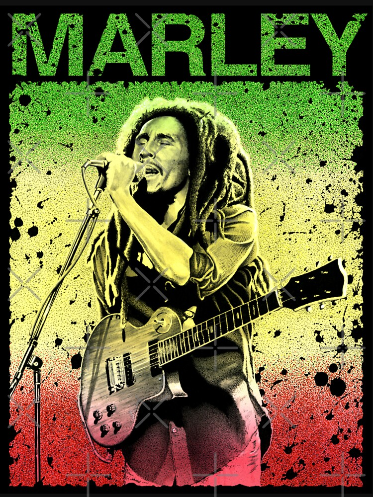 Bob Marley Kunst von Petersnook