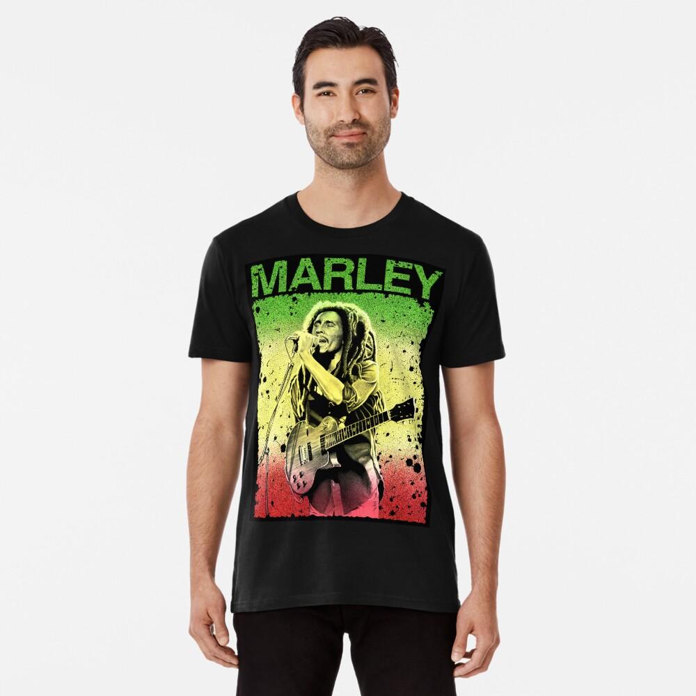 Bob Marley Kunst Premium T-Shirt