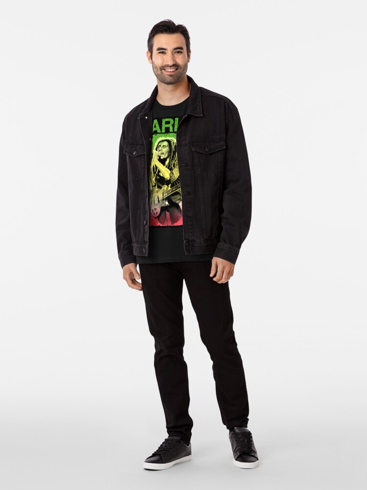 Alternative Ansicht von Bob Marley Kunst Premium T-Shirt