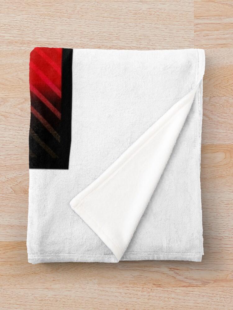 Alternate view of DANGER v0 Throw Blanket