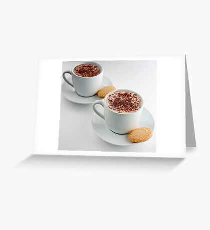 Cappuccino Time Greeting Card