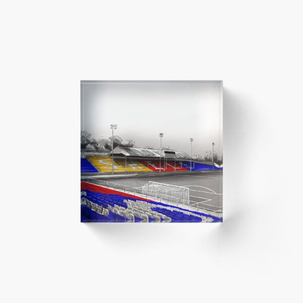 Tolka Park - Shelbourne FC. Acrylic Block
