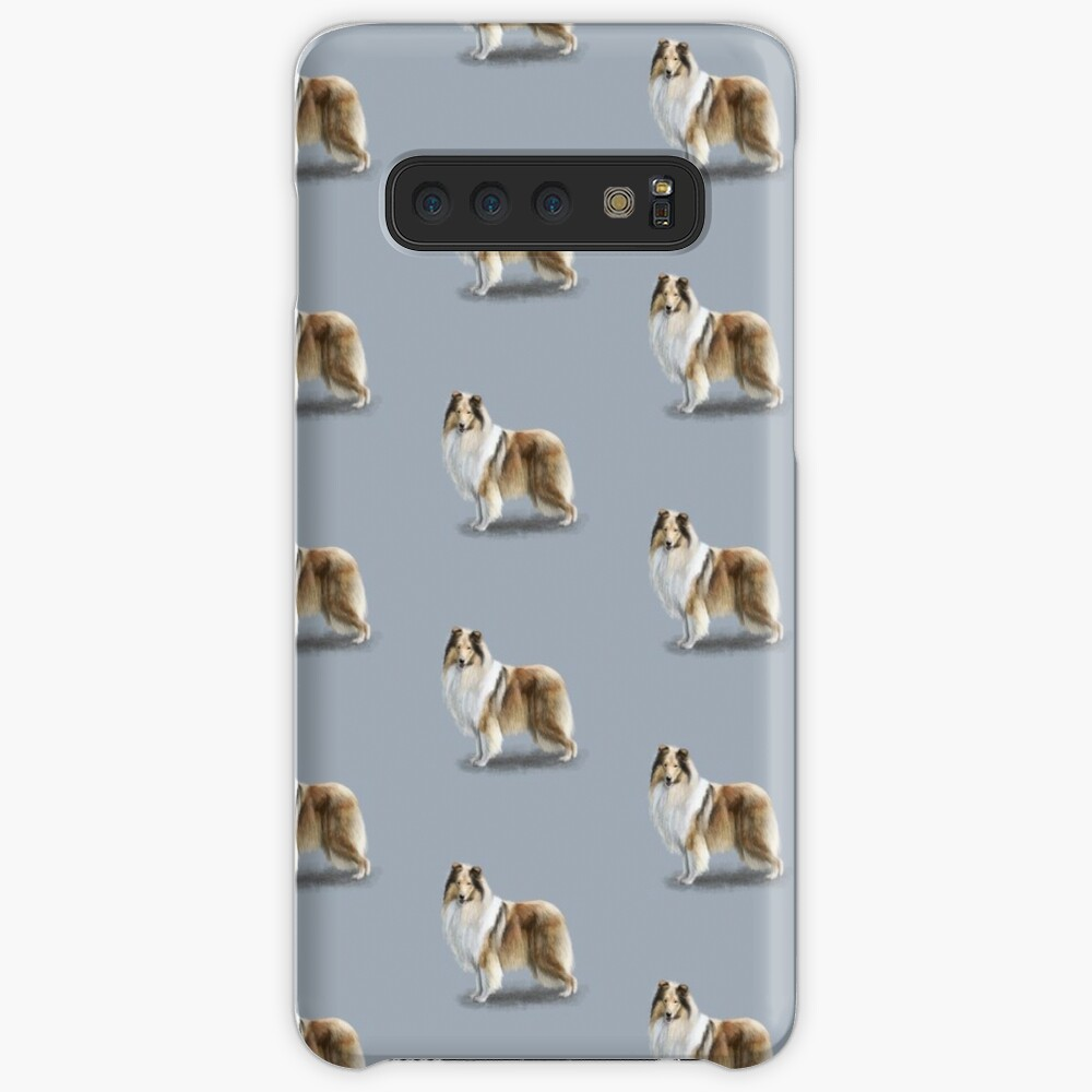 The Sable Rough Collie Dog Case & Skin for Samsung Galaxy