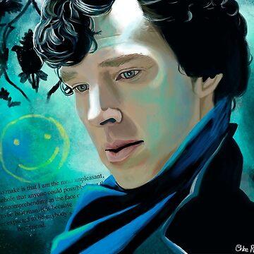 Sherlock by chloeroseart