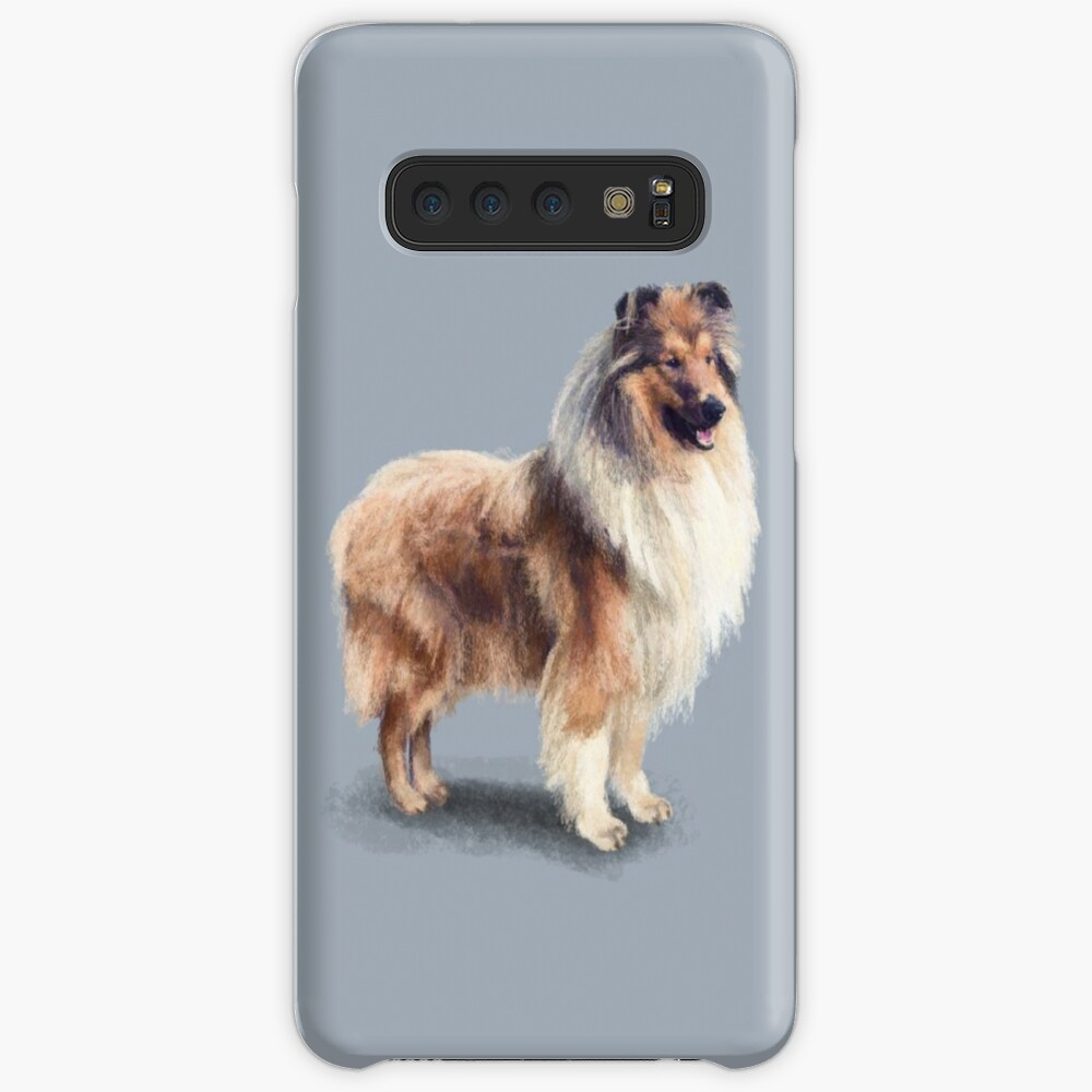 The Rough Collie Case & Skin for Samsung Galaxy