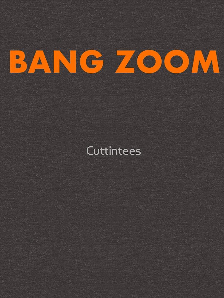 Bang Zoom - Retro Honeymooners catchphrase  by Cuttintees