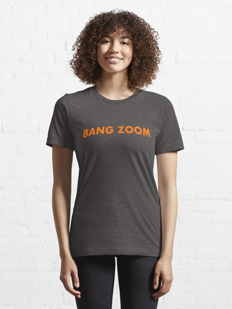 Alternate view of Bang Zoom - Retro Honeymooners catchphrase  Essential T-Shirt