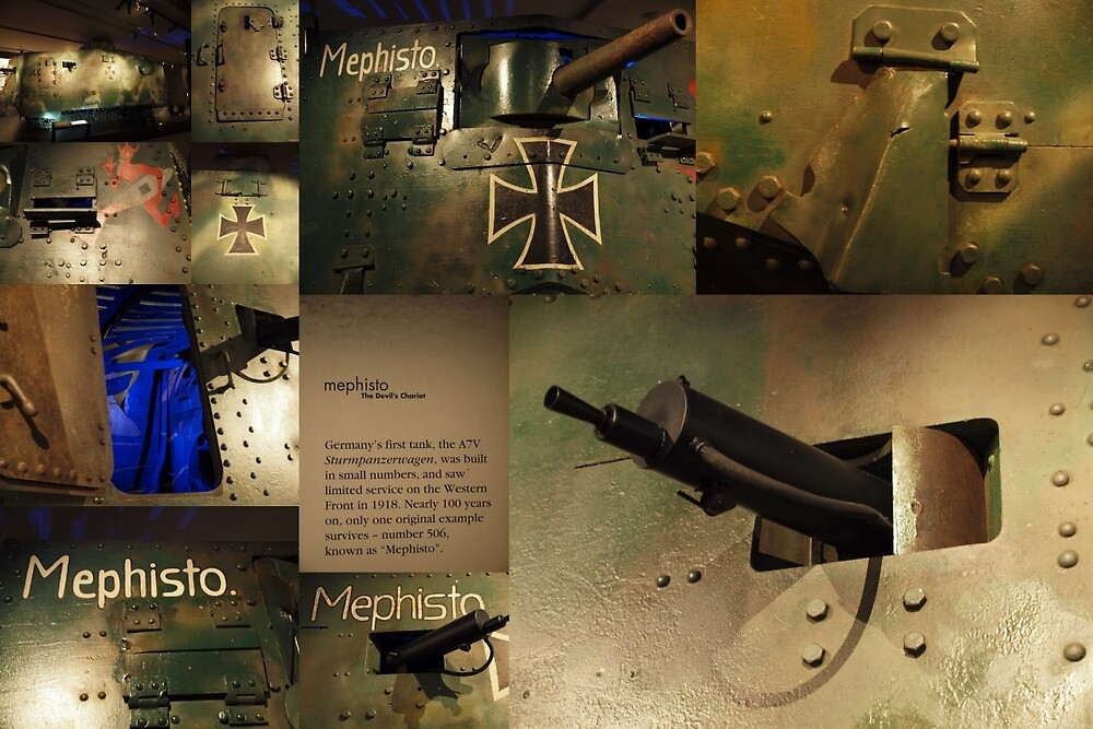 Mephisto a7v #560 by Tom McDonnell