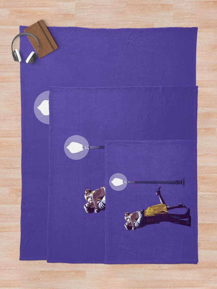 Alternate view of La La Land Throw Blanket