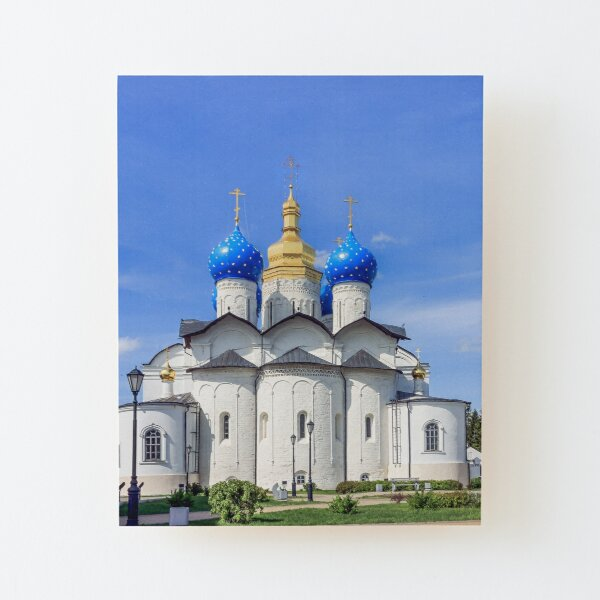 Annunciation Cathedral, Kazan, Russia Wood Mounted Print