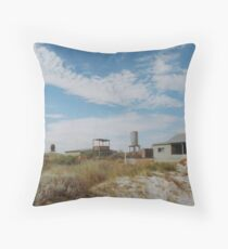 Shack (Wedge Island) Throw Pillow