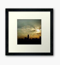 Goodmorning Beijing Framed Print