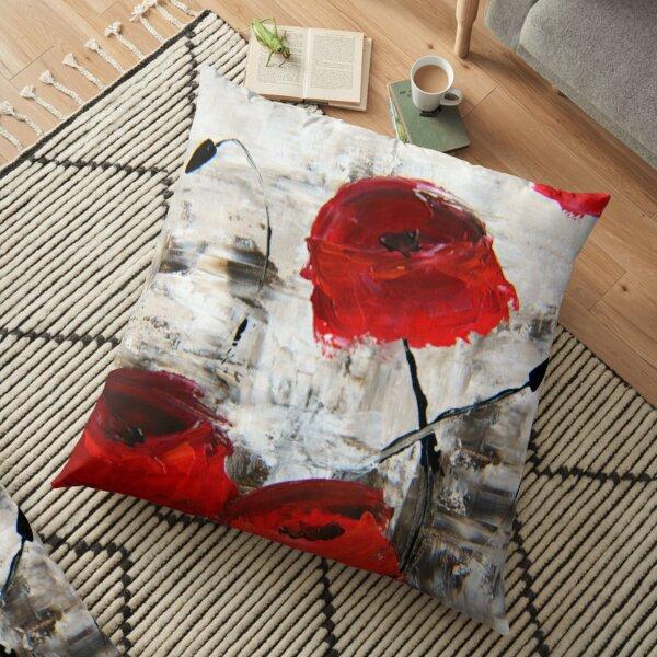 Sloppy Poppy Floor Pillow