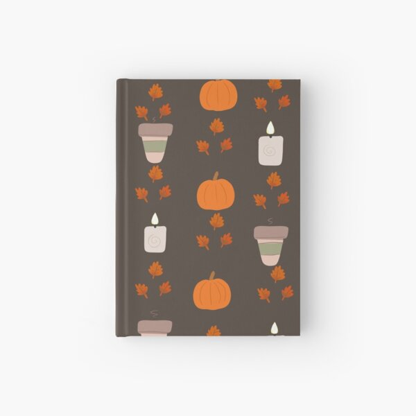 fall is here Hardcover Journal