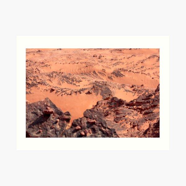 orange world Art Print