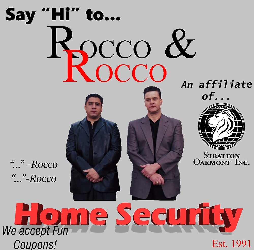 Rocco and Rocco Home Security (alt. design) by Bryce Smith