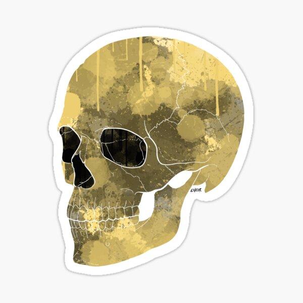 Drop skull Sticker