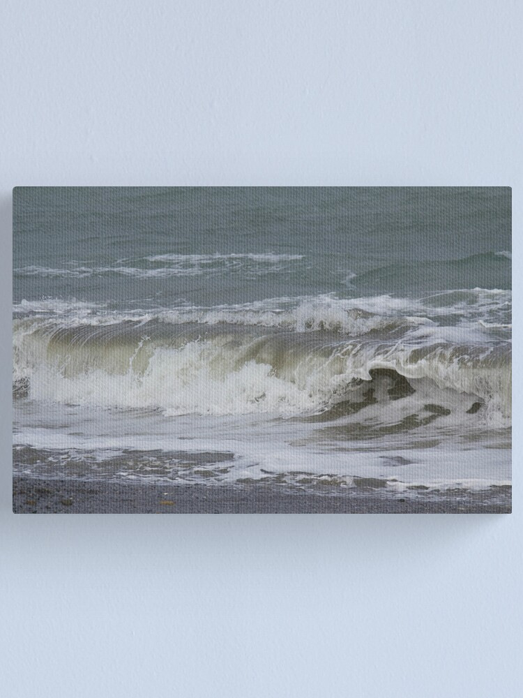 Alternate view of The Green Wave Canvas Print